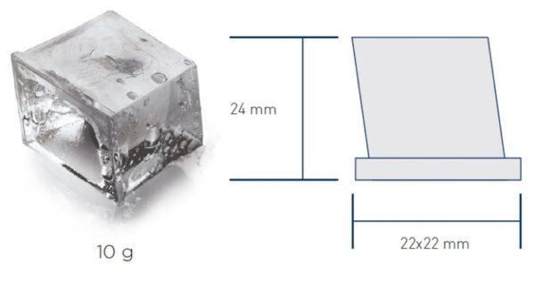 Форма и размер льда