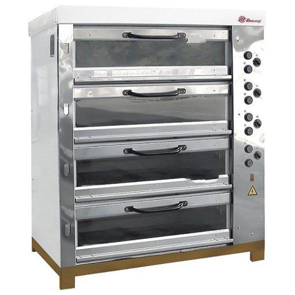 Печь хлебопекарная Восход ХПЭ-750/4 С нерж. сталь