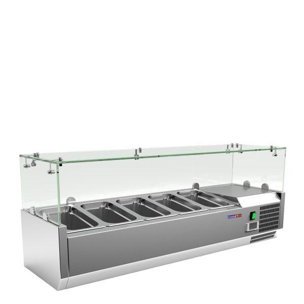 Витрина холодильная настольная Cooleq VRX 1200/330