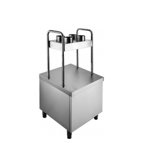 Прилавок для подносов и столовых приборов ПП-1-6/7С Rada